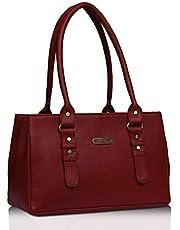 Fristo Women's Handbag (FRB-315_Red)