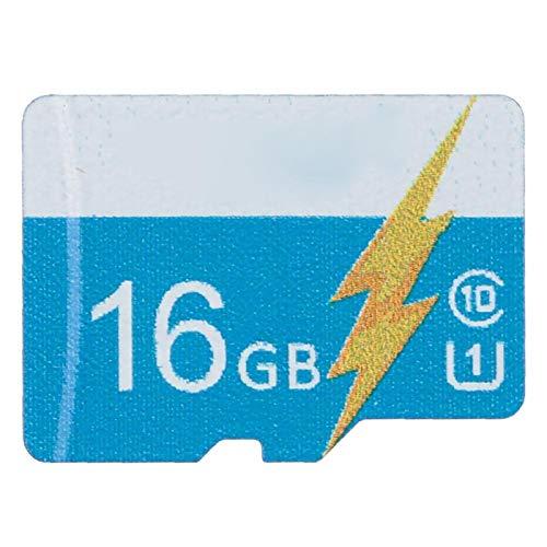 Tarjeta de Memoria Tarjeta de Memoria de expansión de Almacenamiento de transmisión eficiente 16G para teléfono Inteligente, Tableta, cámara, Azul