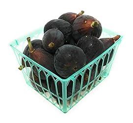 Figs Black Organic, 1 Basket