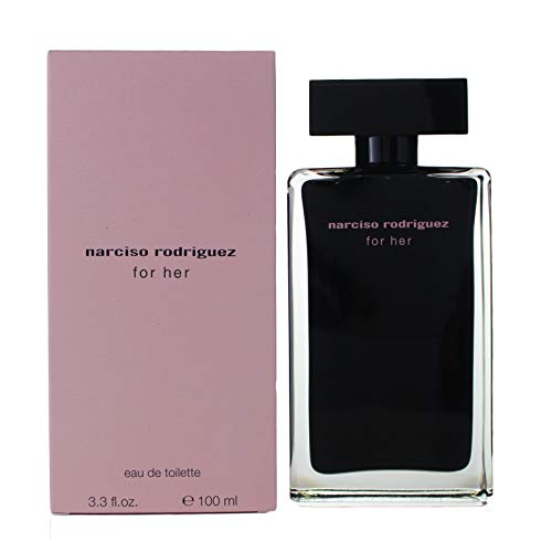 Narciso Rodriguez For Her femme/woman, Eau de Toilette, Vaporisateur/Spray 100 ml, 1er Pack (1 x 100 ml)