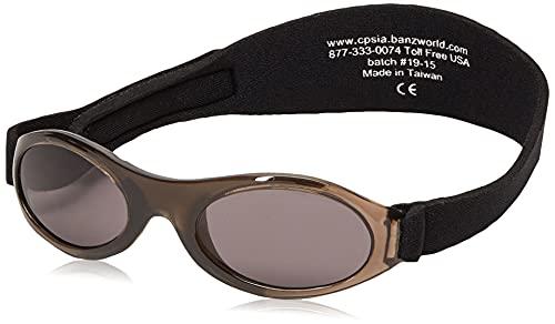 KidzBanz Adventure, Babysonnenbrille (0, 2 Jahre), Schwarz