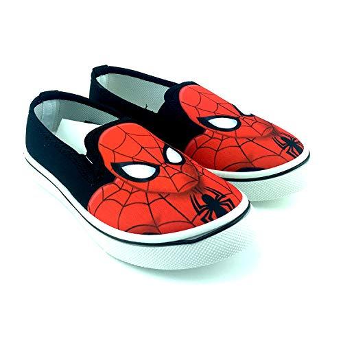 Marvel Avengers trampelschoenen voor kinderen, zonder laken, zwart (maat 26 tot 33)