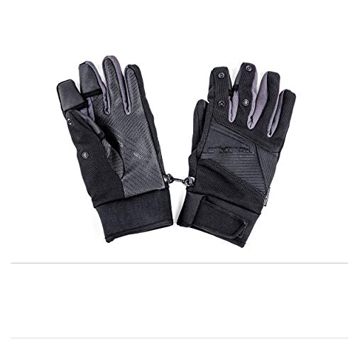 PGYTECH Photography Gloves Winter Touchscreen Gloves, Windproof Waterproof Thermal Thick Gloves, Skiing Running Cycling Driving Photography Outdoors Gloves for Mavic Mini 2/Mavic Mini/Mavic Air 2 (XL)