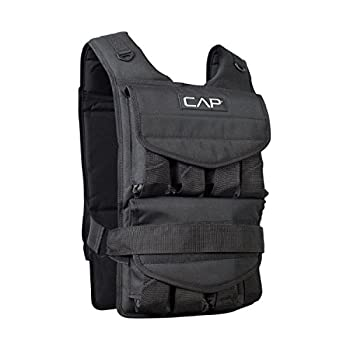CAP Barbell Adjustable Weighted Vest 40 Lb