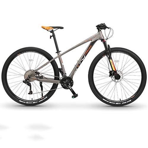 Bicicleta De Montaña para Adultos/Hombre/Adolescente Aleación De Aluminio Todoterreno De 33 Velocidades Cuerpo Ultraligero Freno De Disco De Carreras De Velocidad Variable De Doble Choque C 26inch