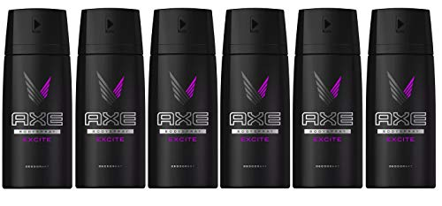 AXE Body Spray Deodorant Excite 150 Ml / 5.07 Oz (Pack of 6) by AXE
