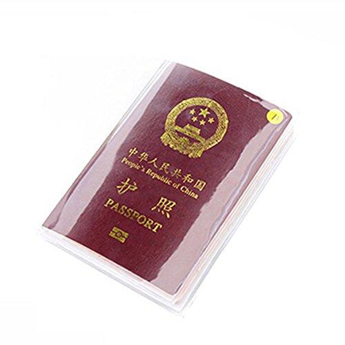Trasparente per passaporto, Organizer porta documenti da viaggio Trasparente