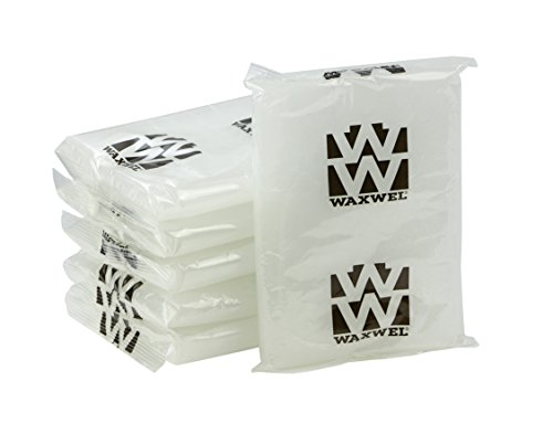 WaxWel Paraffin Bath Refill Wax Blocks, 6 lb Box, Unscented