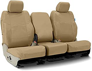 Coverking CSC1E5FD10017 Custom Seat Covers ((1 Row) Cordura/Ballistic Cashmere for Select 2017 to 2018 Ford Truck F-250, 350 (Super Duty) Models)