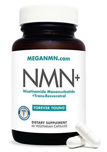 NMN Nicotinamide Mononucleotide Supplement, Advanced NAD Anti Aging Capsules with Trans-Resveratrol – Nicotinamide Riboside Alternative for Women & Men | NFR2 Sirtuin Activator Antioxidant,– 60 Pills
