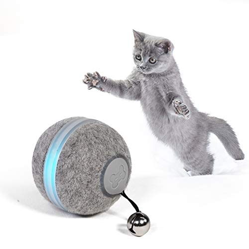 Boqii Cat Toys for Indoor Cats Smart Balls, [3 Modes for Cats