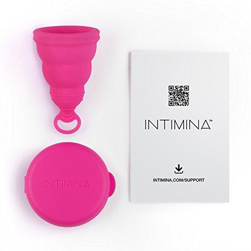 Intimina Lily Cup One – Die zusammenfaltbare Menstruationstasse für Anfänger - 3