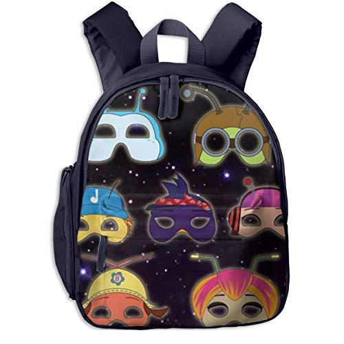 Water Resistant Kid Backpack, Buzz Beat Bugs Mask Headgear Fan Art Student School Bags For Boys Teen Elementary, Best Beach Bag For Picnic Flying