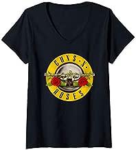 Womens Guns N' Roses Bullet V-Neck T-Shirt