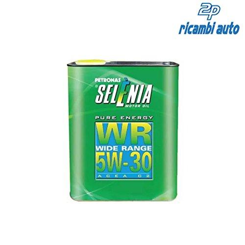 DUE 2 LITRI OLIO MOTORE SELENIA WR PURE ENERGY 5W30