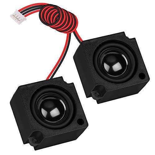 8 Ohm Speaker 3 Watt Speaker Full Range Audio Speaker 8Ohm 3W 4pin-2.0 Interface for Arduino DIY Electronic Projects