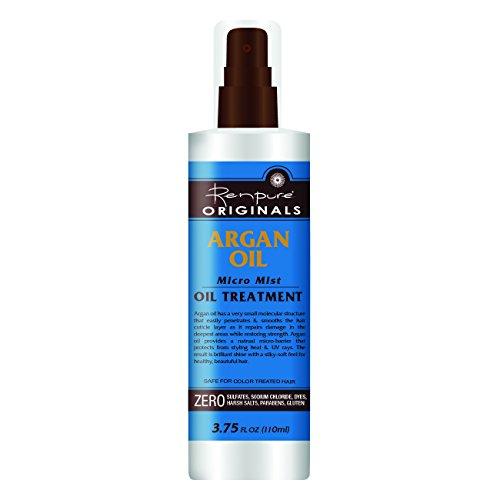 Renpure Argan Micro Mist Oil Treatment With Sprayer, 3.75 Ounces