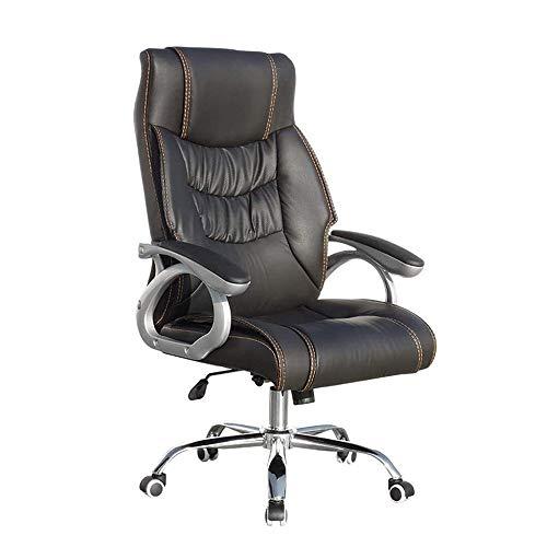 Tolalo Shiatsu Beheizte Massage Stuhl, Ventilated Rückenlehne Design-Bürostuhl, ergonomische Armlehne, Nutzung Kippmechanismus/Entlasten Müdigkeit Schwarz