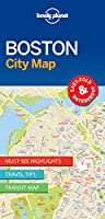 Lonely Planet Boston City Map