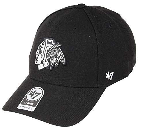 47 Brand rgw17gws Clean Up Strapback Pittsburgh Penguins Nero