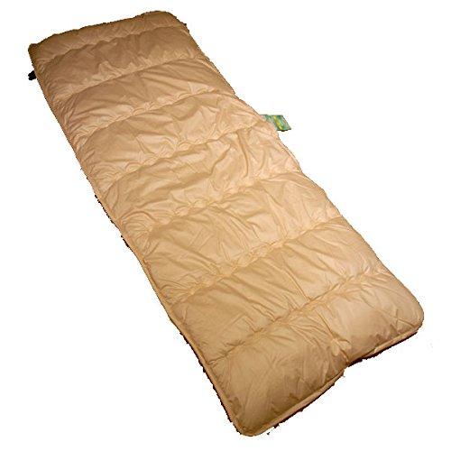 車中泊マット X-スリーパーS 65×125〜195�p ベージュ 日本製 X-sleeper 床付き無し 蒸れない 洗える 車中泊用 敷き布団 コンパクト 軽量 一人用