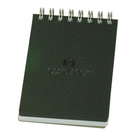 エトランジェディコスタリカ ダブルリングメモ SOLID A7 SLD-30-02 ブラック
