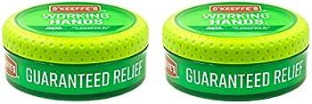 2-Pack O'Keeffe's Working Hands Hand Cream, 3.4 Ounce Jar