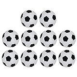 ABOOFAN 10 bolas de futbolín de mesa de repuesto para juegos de mesa, bolas de fútbol de mesa, para fiestas y accesorios divertidos