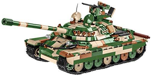 COBI 3040 IS-7 Bloques de construcción de Granito, Verde, marrón, Beige