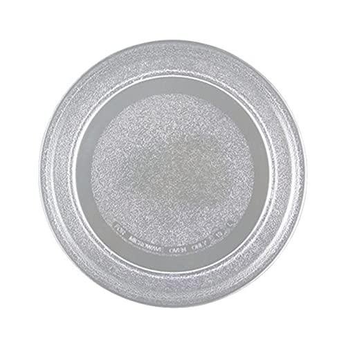 PUGONGYING Popular Horno de microondas 24,5 cm Placa de Vidrio Cubierta Plana Ajuste para Galanz LG Midea, etc. Accesorios de Piezas de Horno de microondas Durable