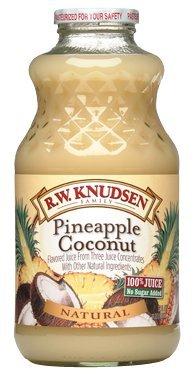 R.W. Knudsen Pineapple Coconut Juice 32 oz (Pack of 2)
