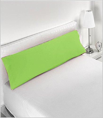 Miracle Home Housse de coussin douce et confortable, 50 % coton, 50 % polyester, Pistache, 90 cm
