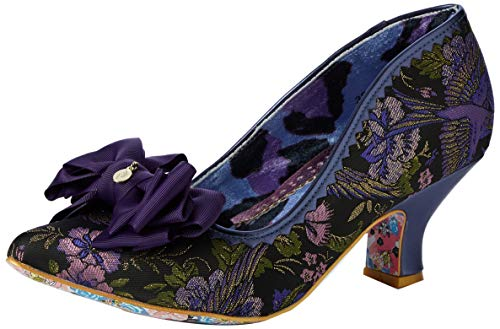 Zapatos de tac/ón con Punta Abierta para Mujer Irregular Choice Darling Bud