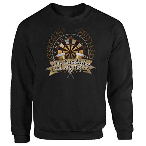 Tex-Ha Dart Bullseye WM Kult schwarz Sweatshirt (M)