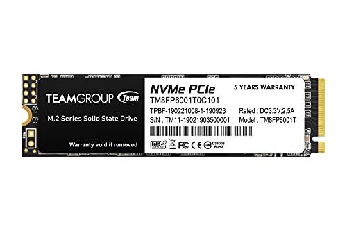 Team M.2 2280 NVMe SSD 1TB PCIe Gen3x4 MP33シリーズ 日本国内5年保証 正規品