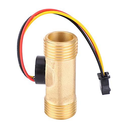 G1 | 2 홀 효과 액체 물 흐름 센서 스위치 유량계 카운터 미터 수나사 1 30L | MIN 유량 센서 게이지
