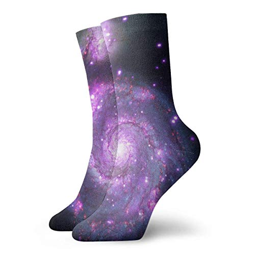 Tammy Jear Calcetines casuales para hombres y mujeres, calcetines de compresión atléticos Galaxy Unisex Fashion Comfort Athletic Compression