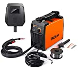 TACKLIFE MIG Welder, 120V Flux Cored Welder, Light Weight and Portable Welding Machine with 5 Pcs Replaceable Nozzle Device, Electric Welder with 30-90Amp Adjustable and Controllable Current EWT02A