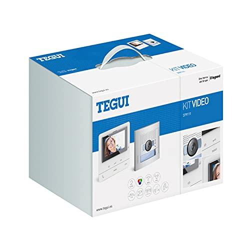 'Kit Videoportero 2 hilos Tegui Sfera New con monitor CLASSE100V16B Basico 379111'