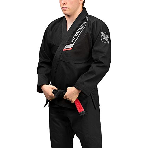 Hayabusa Ultra-Lightweight Pearlweave Jiu Jitsu Gi - Black, A2