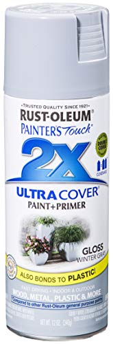 Rust-Oleum 249094 Painter's Touch Multi Purpose Spray Paint, 12-Ounce, Sage Green - 6 Pack