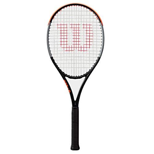 Raquetas De Tenis De Ocio para Adultos De Nueva Tecnología Tenis Profesional Individual Método De Enhebrado: 16 × 19 (Color : Photo Color, Size : 27inches)