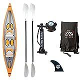 Aqua Marina th-425 Tomahawk Kayak Inflatable Kayak,
