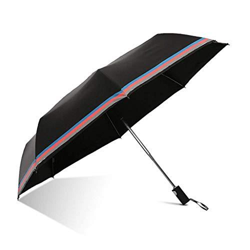 Parapluie parapluie Solean écran solaire entièrement automatique Antieuf Business style adulte hommes et femmes Trifold Sunny Parapluie (Couleur: A) dongdong (Color : A)