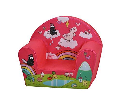 KNORRTOYS.COM Knorrtoys 80204-Kindersessel-Theodor Carbon Pink Fauteuil pour enfant, Rose