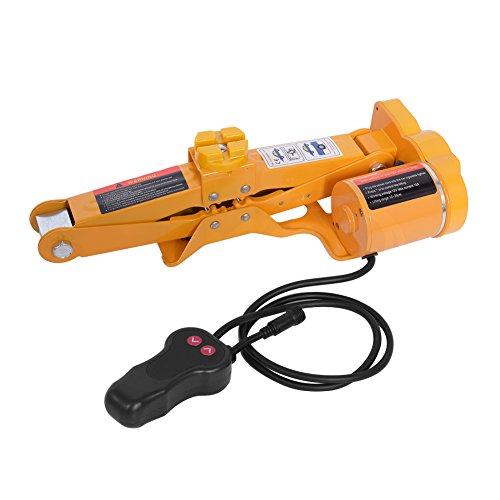 Cric électrique 2T Voiture électrique Jack 12 V Voiture électrique Cric cric élévateur 12 – 35 cm