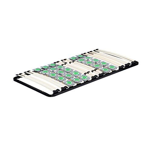 MOG Lattenrost 80x200 cm Lattenrahmen Tellerlattenrost Ergo IF55 - für alle Matratzen geeignet - alle Größen