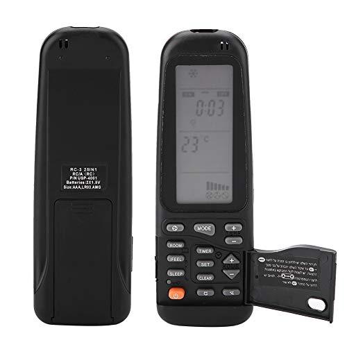 HechoVinen Condizionatore D'aria Telecomando LCD A/C Controllo 25 in 1 Universale Controller per Electra/Airwell/Emailair/Elco Condizionatore D'aria