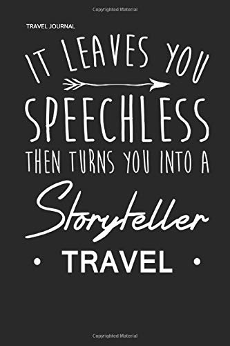 TRAVEL JOURNAL: Reisetagebuch Notizbuch Travel Diary für Weltenbummler
