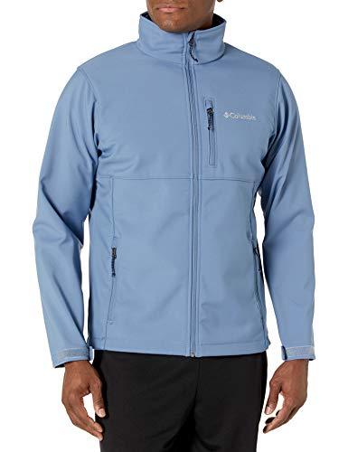 Columbia Ascender Softshell Jacket Chaqueta entallada, Azul (Bluestone), 2X para Hombre